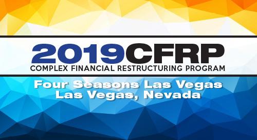 Complex Financial Restructuring Program