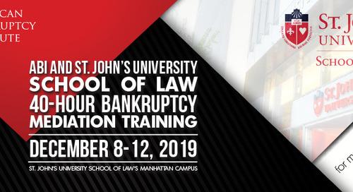 Forty-Hour Bankruptcy Mediation Program