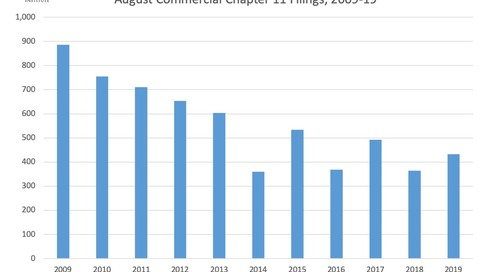 August Commercial Chapter 11 Filings 2009-19