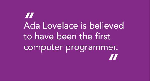 Ada Lovelace Day 2016