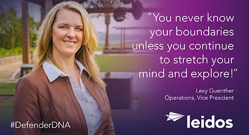 Lexy Guenther has #DefenderDNA