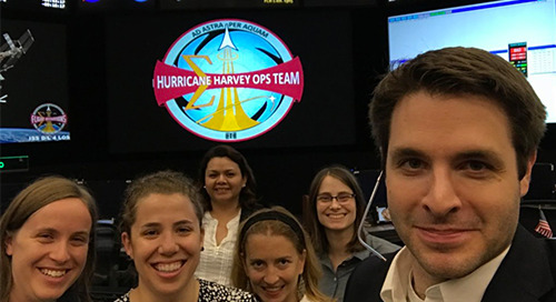 Meet the rocket women in mission control that kept the space station flying through Hurricane Harvey