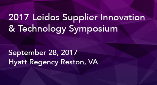 Leidos announces winners of inaugural Supplier Innovation & Technology Symposium awards