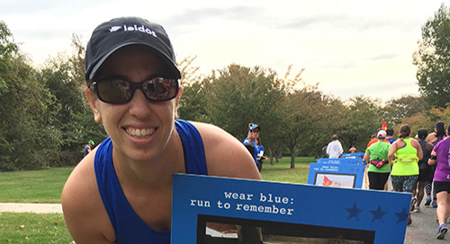 Making memories at the Marine Corps Marathon: Runners, volunteers share their stories
