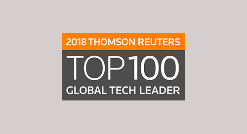Leidos named a 2018 Thomson Reuters Top 100 Global Tech Leader