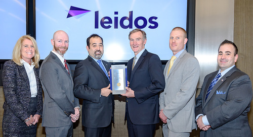 Leidos makes 'Military Times' Best for VETS Index