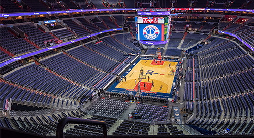 Leidos to serve as presenting sponsor of Wizards Military Night