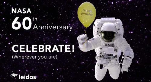 Happy 60th Anniversary, NASA