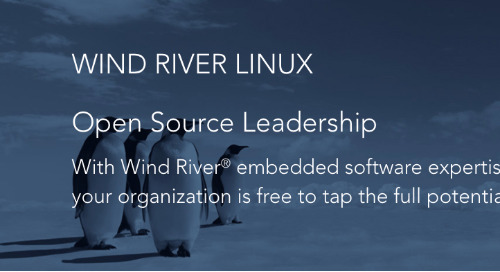 Wind River Linux Open Source Leadership