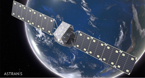 Astranis Space Technologies Corp. Selects VxWorks for Its Next-Generation Satellite