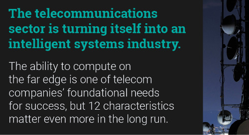 Intelligent Systems in Telecommunications