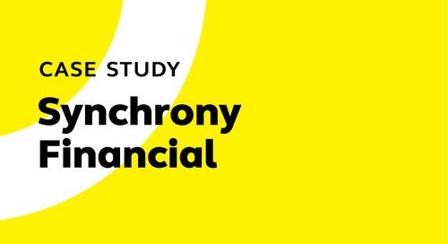 Synchrony Financial's Cornerstone journey