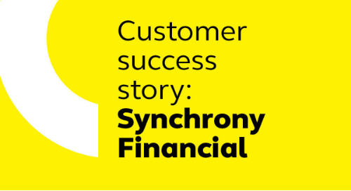Synchrony Financial's Cornerstone journey