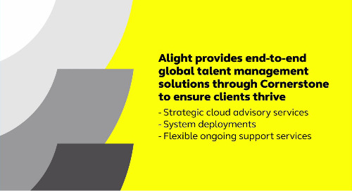 Navigate the talent management landscape with the right partner – Alight Solutions