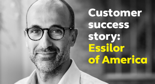 Customer success story: Essilor of America