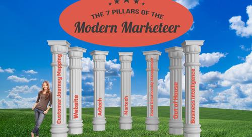 The seven pillars of the modern marketer