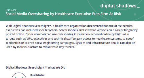 Social Media Oversharing by Healthcare Executive Puts Firm at Risk