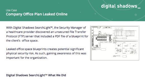 Company Office Plan Leaked Online