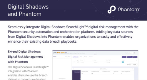 Digital Shadows Phantom Integration Datasheet