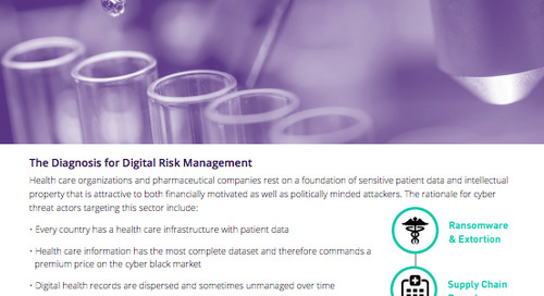 Top Cyber Threats to the Healthcare & Pharmaceutical Sector