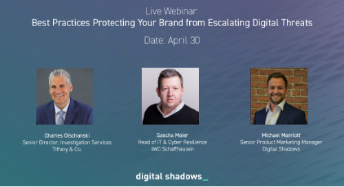 Live Webinar: Best Practices for Protecting Your Brand Online