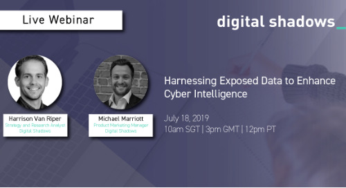 Live Webinar July 18: Harnessing Exposed Data to Enhance Cyber Intelligence