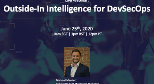 [Live Webinar]: Outside-In Intelligence for DevSecOps