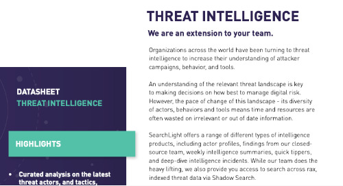 Threat Intelligence Overview