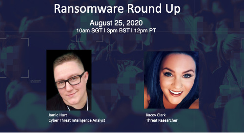 Live Webinar: Ransomware Round Up