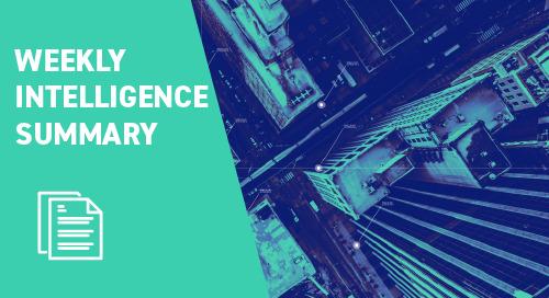 Weekly Intelligence Summary 3rd September