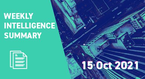 Weekly Intelligence Summary 15th Oct