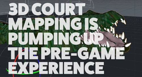 College Basketball Is Going High-Tech With On-Court Projection Mapping
