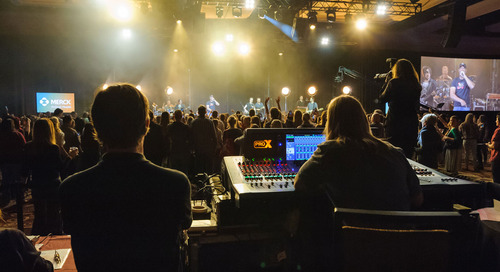 WVC Annual Conference: Enhanced attendee experience through intuitive audio visual [Case Study]