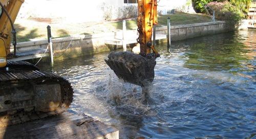 Dredging waterways: Turning muddy muck into something sustainable