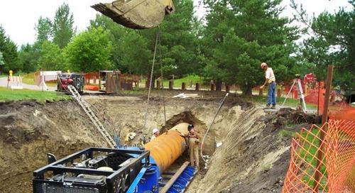 Trenchless technologies, method 3: Horizontal auger boring