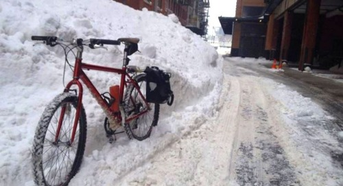 Clearing a path for winter bike lanes
