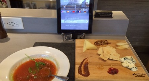 Airport iPad restaurants -  are they worth a try in a rush?