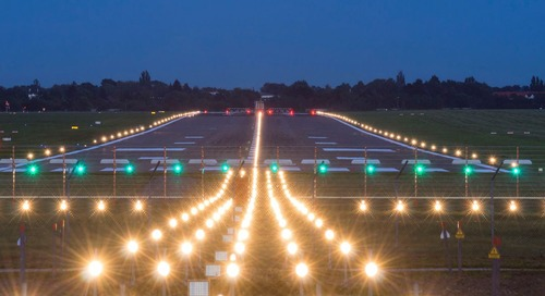 Airport runway lights: What are they all for?