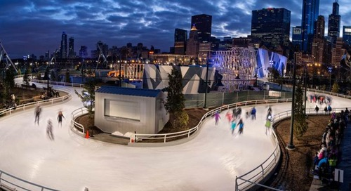 Ditching the rink to skate on a rolling ribbon of ice