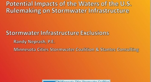 Have you heard of WOTUS? It's about the Clean Water Act; and it's important