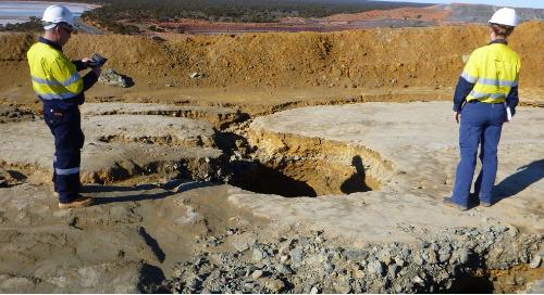 Reducing liabilities through progressive mine closure
