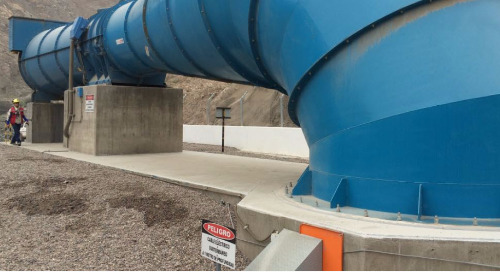 Proper mine ventilation increases safety and can dramatically reduce costs