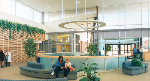 Tunable white light for health care spaces