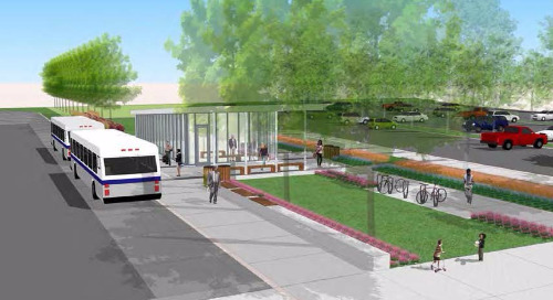 How implementing biophilic architecture can soothe transit riders