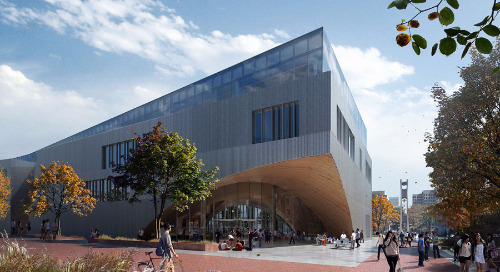 Geometric library breaks ground at Temple University