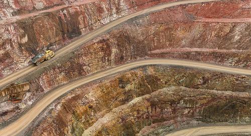 Karst: Mining within a maze