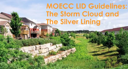Webinar Recording (Part 1): MOECC LID Guidelines - The Storm Cloud and the Silver Lining