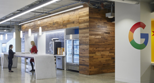 The Chicago Google office is one of the greenest workplaces