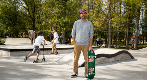 Kanten Russell: Chula Vista resident, advisor, past pro, and skate park designer