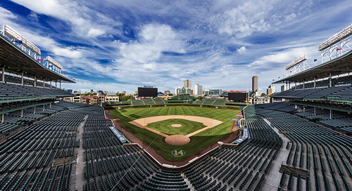 The renovation of iconic Wrigley Field is an example of large-scale building recycling